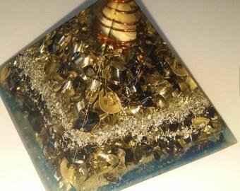 Orgone Generator Pyramid, Imperial Jasper