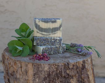 Serenity Now!  All Natural Handcrafted Soap, Palm Free Soap, Essential Oils Soap, Relaxing Soap, Bar Soap