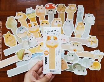 Hamster bookmarks, Guinea Pig bookmark, Rabbit bookmark, Hamster bookmarks, Hamster book mark, Cardlover bookmark