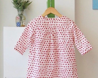Kusama : Red dot Tunic