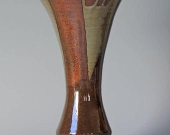 Handmade Ikebana Vase, Ikenobo School.  Flower Vase.