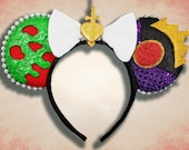 Original Queen Mouse Ear Headband with Bow