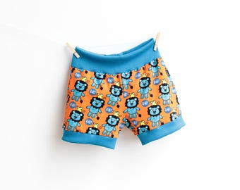 CHEEKY Boy Shorts Girl Shorts pattern sewing Pdf, Children Toddler Kids Knit Jersey Shorts, 3 4 5 6 7 8 9 10 years INSTANT DOWNLOAD