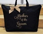 Mother of the Groom Tote Bag Mother of the Bride Tote Bag Personalized Wedding Tote Bags