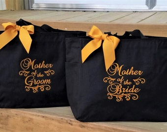 Tote Bag Wedding Totes Mother of the Bride Mother of the Groom MOB MOG