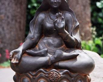 Kuan Yin, Garden Statue, Goddess, Deity, Quan Yin, Garden Buddha, Priestess, Meditation Art, Altar Art, Spirituality