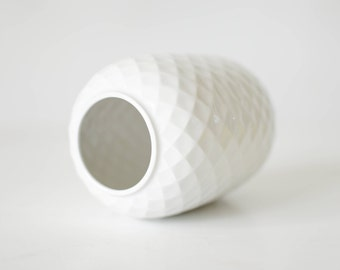 Thomas Germany, white ceramic flower vase