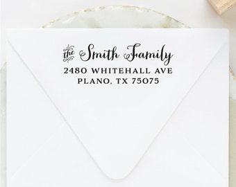 Family Address Stamp, Return Address Stamp, Address Stamp, Custom Stamp, Personalized Stamp, Self Inking Stamp, Wedding Stamp