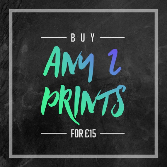 Special Offer - Poster Pack - Buy Any 2 Posters - Multibuy