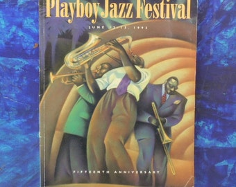 1993 15th Annual Playboy Jazz Festival Program // Jazz Festival Collectibles // Hollywood Bowl
