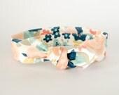 Baby Headband, Organic Cotton Floral,...