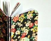 Mini Blank Books {3} Brown Floral | Floral Notebooks | Teacher Gift | Gift under 5 | Best Friend Gift | Stocking Stuffer