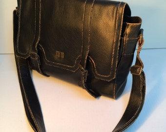 Messenger Bag, Men's Vintage Bag, Computer Bag, Book Bag, Crossbody Bag, Designed By: Fina Firenze