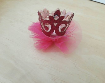 Toddler & Baby Hot Pink Crown