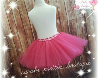 Girls Pink tutu skirt age 1-2 yrs