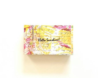 Hello Sunshine- Orange Grapefruit Palmarosa Handmade Soap