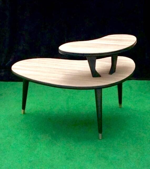 Mid Century Modern Coffee Table Kidney Bean Shaped Atomic: Kidney Bean Coffee Table Mid Century Modern Boomerang