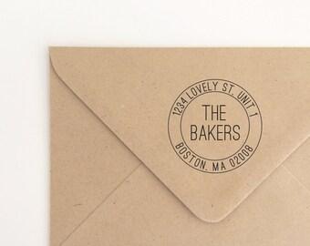 Return Address Stamp, Postal Stamp, Custom Address Stamp, Personalized Address Stamp, Self-Inking Stamp, Custom Address Stamp (SADDR110)
