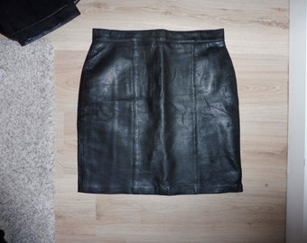 Leather skirt size 40 FR