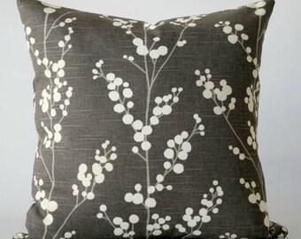 gray 24x24 pillow cover, decorative pillow, gray white pillow cover, throw pillows, cushion, decorative pillows, gray pillow