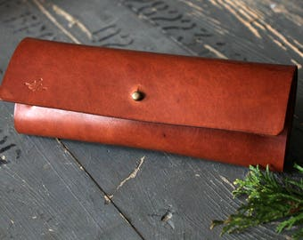 Leather Sunglasses Case, Leather Sunglass Case, Glasses Case, Leather Case, Leather Sunglass Pouch
