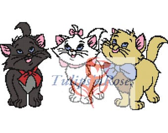 Three Cute Kitties Graph