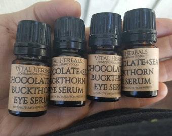 Chocolate sea buckthorn eye serum
