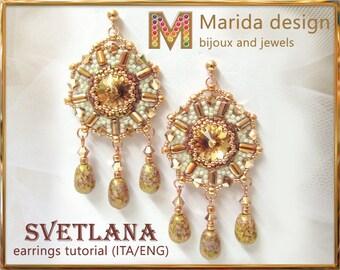 """Tutorial """"Svetlana"""" earrings"""