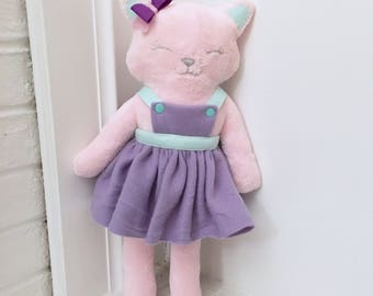 Stella's Miss Meow Meow Kitty Cuddle plush