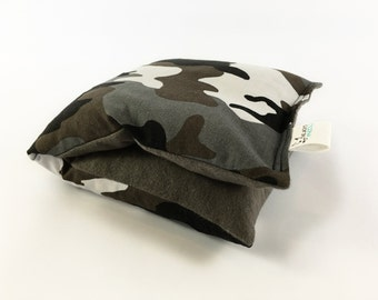Heating Corn Bag, Greys, Cold Pack, Small Camouflage