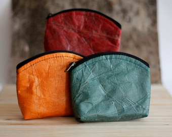 Real Leaf Coin Pouch