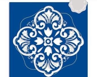 Art carrelage marocain etsy for Carrelage quadrilobe