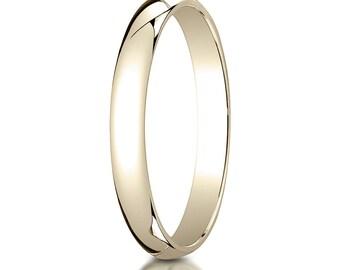 18k Yellow Gold 3mm Wedding band, 18kt Wedding Band, 18kt Yellow Gold wedding band, 3mm Wedding Ring, 18kt White Gold 3mm, 18k White Gold
