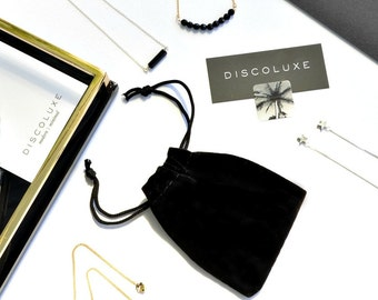 Black Velvet Jewellery Pouch | Gift Bag Upgrade | Gift Wrapping Add On