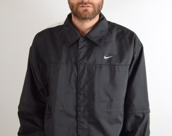 Vintage Nike Jacket with Detachable Sleeves Size L (1598)