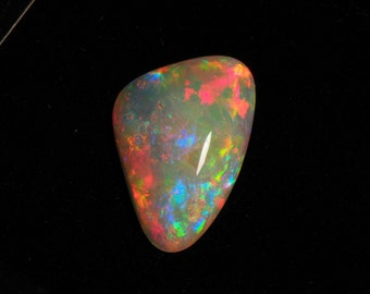 5ct double sided Andamooka Crystal Opal top gem -P4150092
