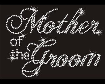 Custom Rhinestone Mother of the Groom
