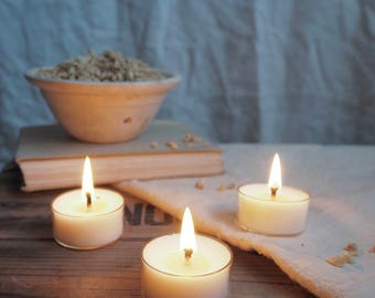 Six Almond Grove Scented Soy Wax Tealights
