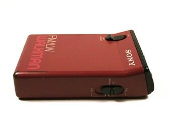 Rare vintage SONY walkman radio receiver, FM / LW, Model Srf-33L, 1990s