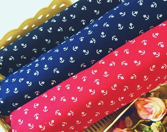 Anchor Fabric pattern of 100% Cotton Fabric by the yard