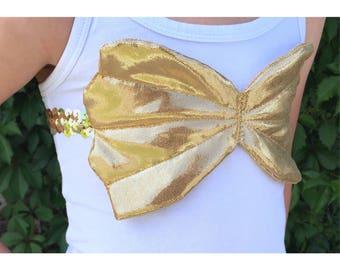 Shimmer Shell Bra Gold, Shell Bra, Mermaid Costume, Dress Up, Mermaid Dress Up, Mermaid, Birthday Oufit, Halloween Costume