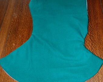Medieval style hood reenactment wool in green look!!