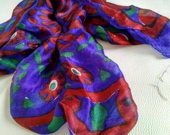 Syrian Silk Scarf