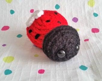 Ladybug Mini Amigurumi
