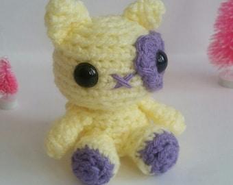 Crochet Mini Cat Plush Amigurumi