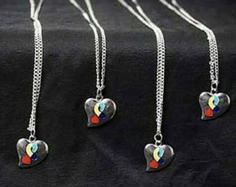 Puzzle of Love Necklace