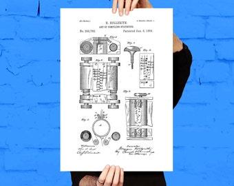 First Computer Print, First Computer Poster, First Computer Patent, Computer Decor, First Computer Art, First Computer Wall Art, Computer