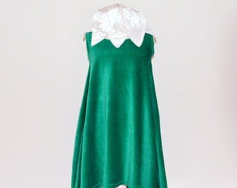 snowdrop,flowerdress,fairy dress,pixi dress,nicky velour dress