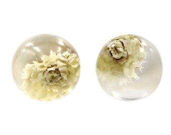 Immortal chrysanthemum earrings