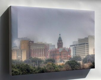 Canvas 24x36; Gfp Dallas Texas Downtown